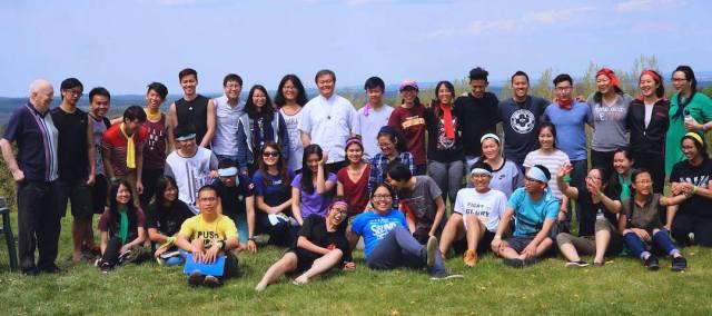 SCJs and UKI retreat participants